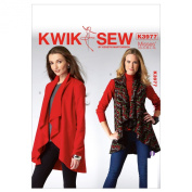 Kwik Sew Patterns K3977 Misses' Vest and Jacket Sewing Template
