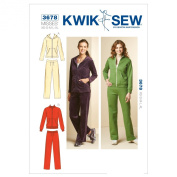 Kwik Sew K3678 Jackets and Pants Sewing Pattern, Size XS-S-M-L-XL