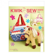Kwik Sew Patterns K3970 Bags and Pets Sewing Template, One Size