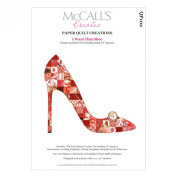 McCall's Creates W10621 Paper Quilt Creations Craft Pattern, I Want That Shoe Quilt Picture