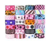 Hip Girl Boutique Printed Grosgrain Ribbon (75yd