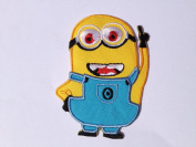 Despicable Me Minion Iron-on Patch (7.6cm x 5.1cm ) Embroidered Badge.