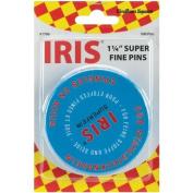 Euro-Notions Iris Swiss Super Fine Pins, 500-Pack