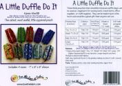 A Little Duffle Do It Pattern