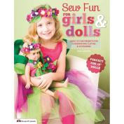 Design Originals NOM162296 Sew Fun For Girls & Dolls