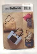 Butterick Purses, Handbags Sewing Pattern #4041