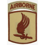 U.S. Army 173rd Airborne Patch Brown 7.6cm
