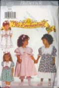 Butterick 3272 Childrens Dress and Pantaloons Sewing Pattern Size 5, 6, 6X