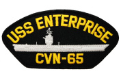 US Navy USS ENTERPRISE CVN-65 Aircraft Carrier 13cm patch D19