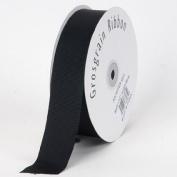 Black Grosgrain Craft 2.2cm By 50-yard Ribbon Spool
