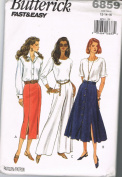 Butterick Fast & Easy 6859 Skirts and Pants
