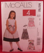 Mccall's Toddlers and Children's Dress Pattern Sizes 1-3