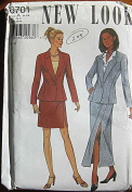 New Look 6701 Sewing Pattern ~ Misses' Jacket and Sexy Skirt in 2 Lengths, Suit, Sizes 6-16