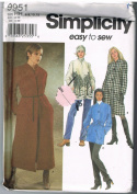 Simplicity 9951 Easy Coats