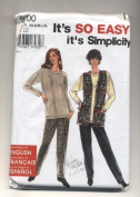 Simplicity Knit Separates Tops and Pants Sewing Pattern #9700