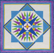 Starburst Compass Quilt Pattern By Cindy Walter