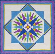 Starburst Compass Quilt Pattern By Cindy Walter
