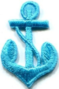 Anchor Tattoo Navy Biker Retro Ship Boat Sea Sew Applique Iron-on Patch S-476 Handmade Design From Thailand