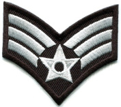 Army Military Insignia Rank War Biker Retro Applique Iron-on Patch New S-524 Handmade Design From Thailand