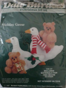 Holiday Geese - A Christmas Felt Kit from Dale Burdett - FK471