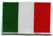 Italian Flag Italy Rome Hope Faith Charity Applique Iron-on Patch Med. New S-101 Handmade Design From Thailand
