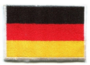National Flag of Germany German Applique Iron-on Patch Medium New S-96 Handmade Design From Thailand