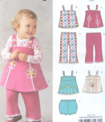 New Look 6663 Babies Jumper, Pants and Panties- Size A