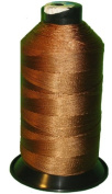 Brown Bonded Nylon Sewing Thread Size #138 T135 1250 Yard for Outdoor, Leather, Bag, Shoes, Canvas, Upholstery