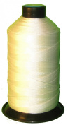 WHITE Bonded Nylon Sewing Thread Size #138 T135 1250 Yard for Outdoor, Leather, Bag, Shoes, Canvas, Upholstery