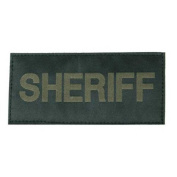 11909 - Patch Sheriff Blk/Grn