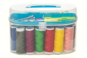 Portable Travel Sewing Kit - Suitable for Beginners & Girls, Comes in 5 Different Premium Coloured Boxes