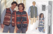 Butterick Fast & Easy Unisex Vest Sewing Pattern #4097