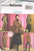 Butterick B4668 Lifestyle Wardrobe Pattern