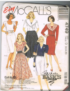 Easy McCall's 4749 Jacket & Dress