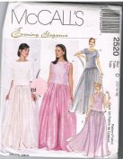McCall's 2520 Evening Elegance Skirt and Top