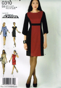 Simplicity 0310, Misses' Dress, Project Runway, Size 4-12