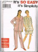 Simplicity 8487 Sleepwear Pattern