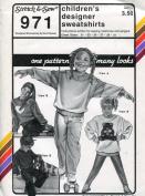 Stretch & Sew Pattern 971 ~ Children's Designer Sweatshirts