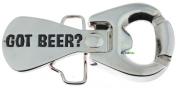 Got Beer. Bottle Opener Metal Belt Buckle Funny Cool Unique