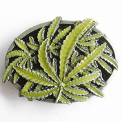 new Mary Jane Herb flowers belt buckle T077