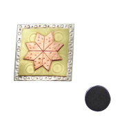 Sarah's Choice Quilt Block Needle Nanny Magnetic Needle Minder, Broach