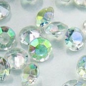 7mm 1-1/4 Carat Diamond Confetti AB Coating For Table Scatter Wedding Decorations - 500/CNT