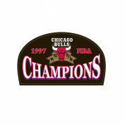 NBA Chicago Bulls Logo Patch - 1997 Champions