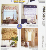 McCall's Home Dec In-A-Sec Pattern M4536