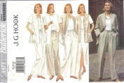 Butterick Pattern 3371 Size/Taille 18-20-22 Misses' Jacket Vest Skirt & Pants J. G. Hook