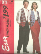 Misses, Men's Or Teen Boys Lined Vest And Pants, Size