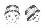 1920's Cloche Hat Pattern