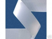 2.2cm x 100 yds Single Face Satin ribbon- WHITE