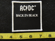 AC DC Back in Black Patch