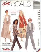 Easy McCall's 7887 Skirt Pants and Top